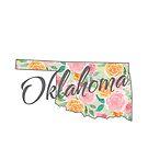 Oklahoma State | Floral Design with Roses von PraiseQuotes