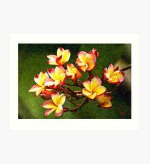 Flowerage Art Print