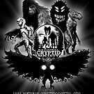 Bigfoot Mothman Lizardman Monsters Cryptids Creatures by NationalCryptid