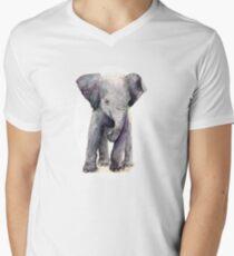 baby elephant V-Neck T-Shirt