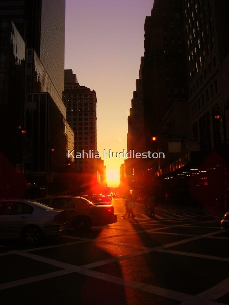 Sunset on 7th Avenue by Kahlia Huddleston