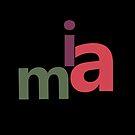 Custom Name Tag - Mia - Girl Name by ys-stephen