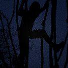 Climbing Trees Blue  by grarbaleg