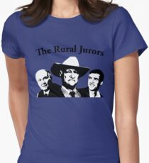 The Rural Jurors Women's Fitted T-Shirt