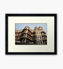 Heritage building, Calcutta,India Framed Print
