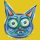 STARE CAT by fixtape