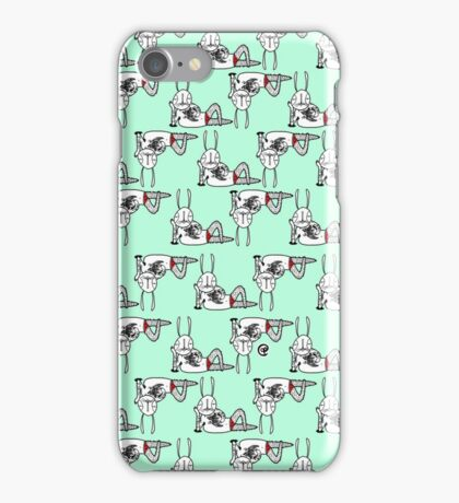 sexy bunny reclining iPhone Case/Skin