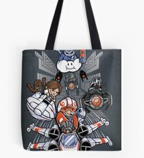 Red Shell, Standing By - Print Tote Bag