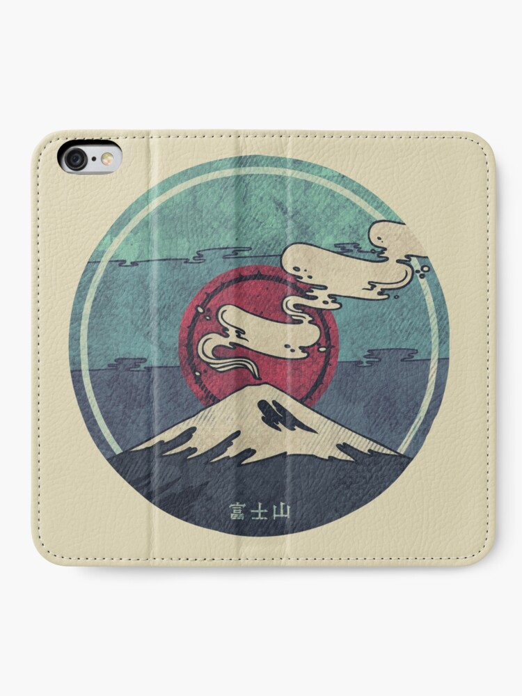 Alternate view of Fuji iPhone Wallet