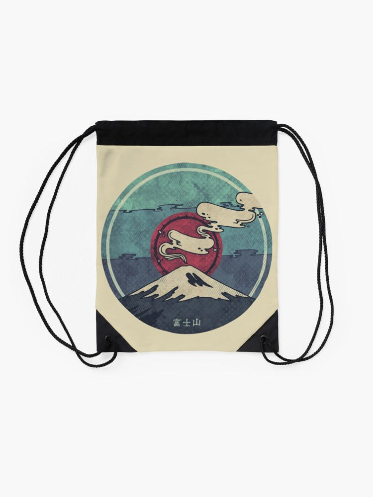 Alternate view of Fuji Drawstring Bag
