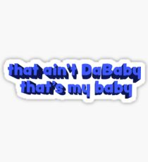 dababy Sticker