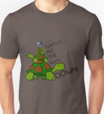 Turtles all the way down! T-Shirt