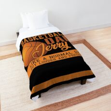 Jerry Dad basketball Comforter