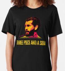 Three Piece and a Soda Slim Fit T-Shirt