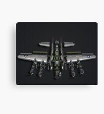 Warranty Void - Model Plane Canvas Print