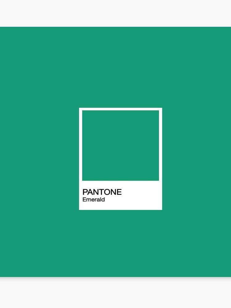 4d0fe41fe062 PANTONE Emerald Canvas Print. PANTONE Emerald by joaovictorprado