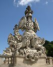 Statue at the Gloriette by Lee d'Entremont