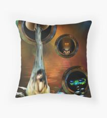 Just Dropping In! Throw Pillow