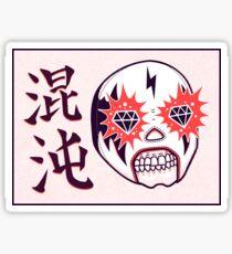 CHAOS Lucha Sticker