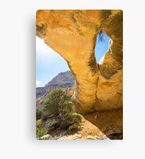 Sand Canyon Arch Canvas Print