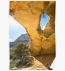 Sand Canyon Arch Poster