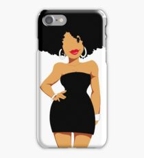 Black Woman iPhone Case/Skin