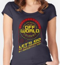 Off World Women's Fitted Scoop T-Shirt