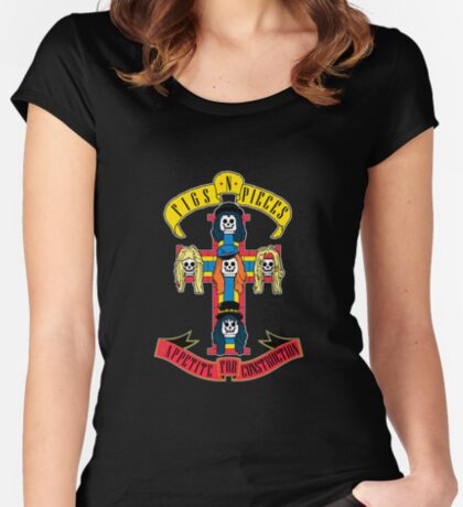 Appetite for Construction Women's Fitted Scoop T-Shirt