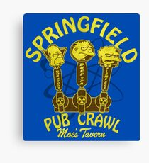 Pub Crawl Canvas Print