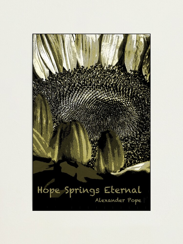 Alternate view of Hope Springs Eternal Photographic Print