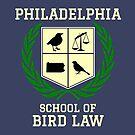 Philadelphia School of Bird Law (dark color shirts) by TVsauce