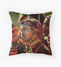 Masai - Kenya Throw Pillow