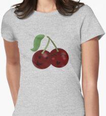 Cheeky Cherries Womens Fitted T-Shirt