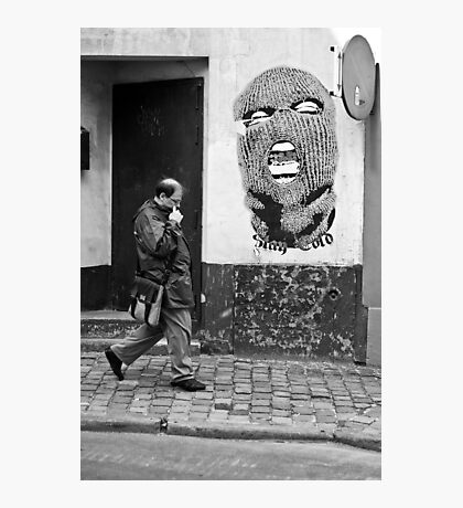 Nasty wall Photographic Print