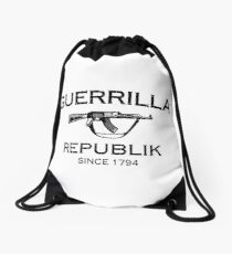 Immortal Guerrilla Republik Drawstring Bag