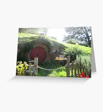 Hobbiton  Greeting Card