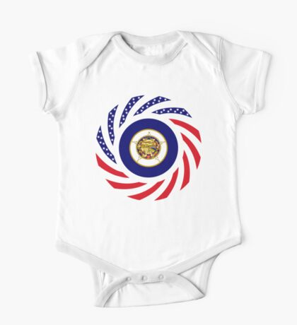 Minnesota Murican Patriot Flag Series Kids Clothes