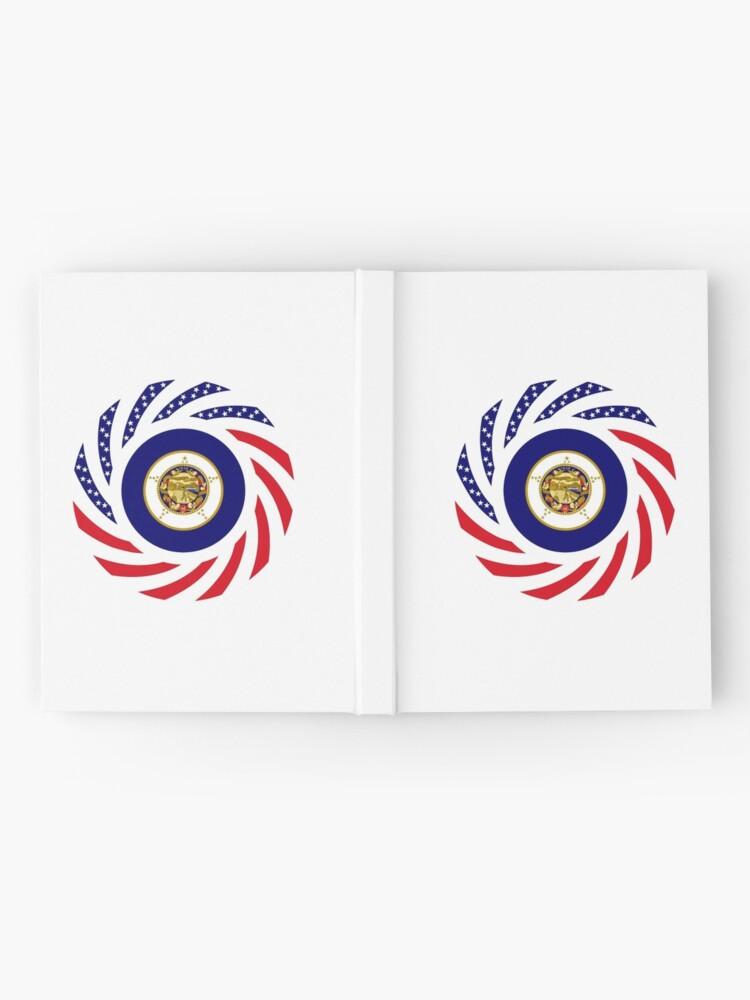 Alternate view of Minnesota Murican Patriot Flag Series Hardcover Journal
