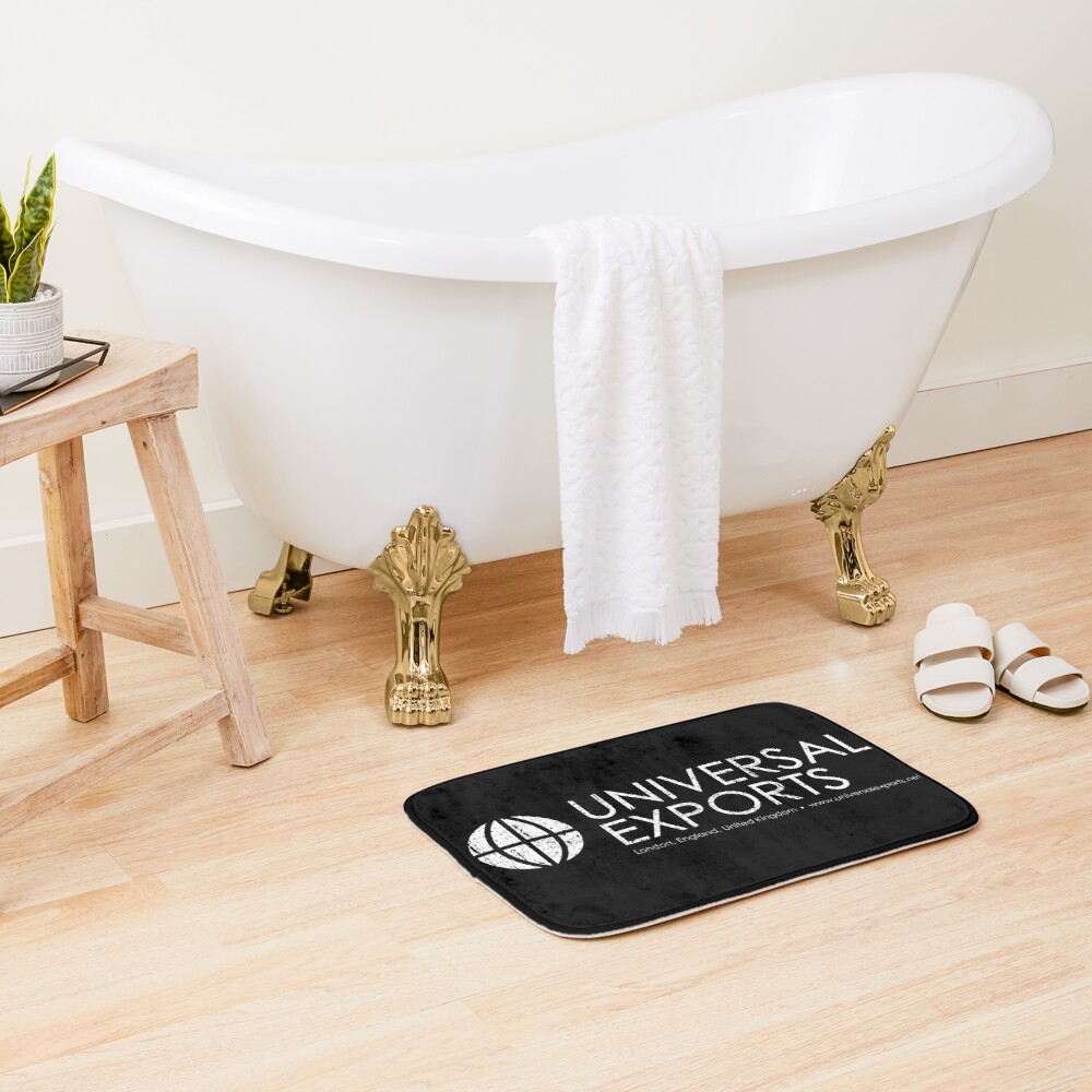 Universal Exports - James Bond Bath Mat