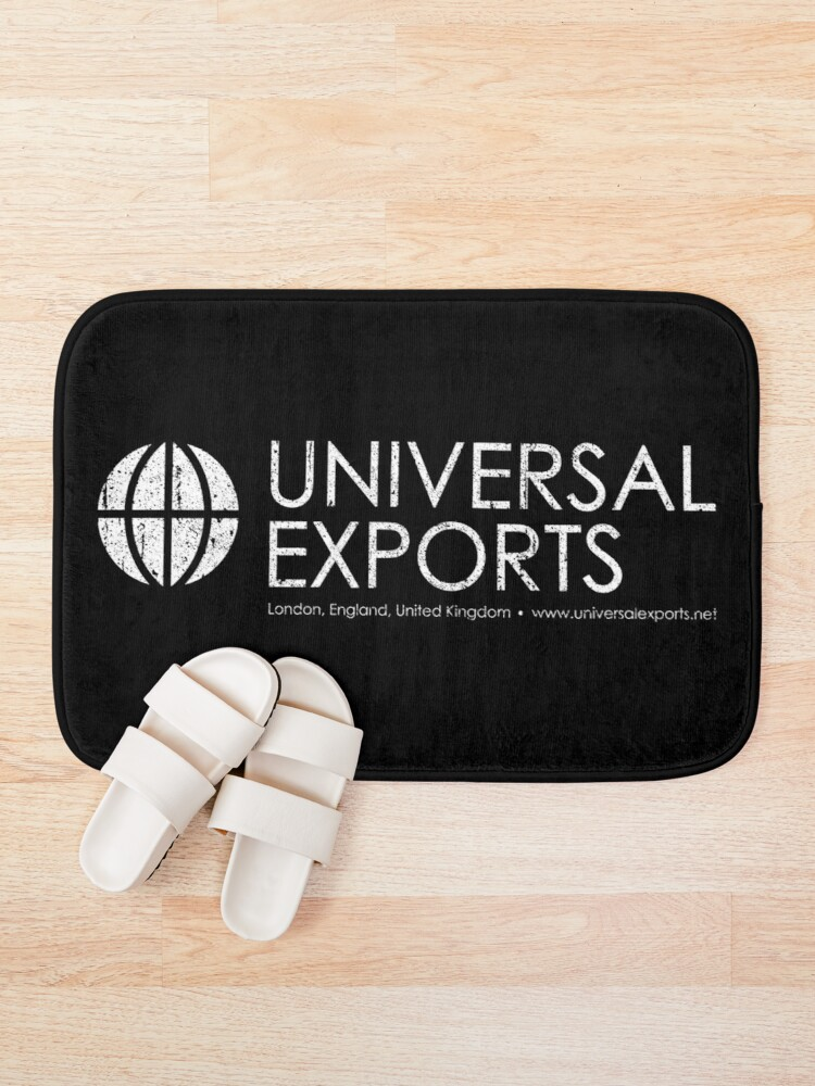 Alternate view of Universal Exports - James Bond Bath Mat