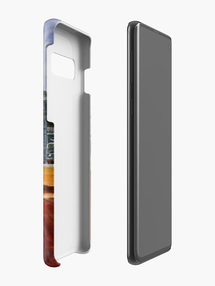 Alternative Ansicht von Hafer mahlen - Unigrain Wagin Hülle & Klebefolie für Samsung Galaxy