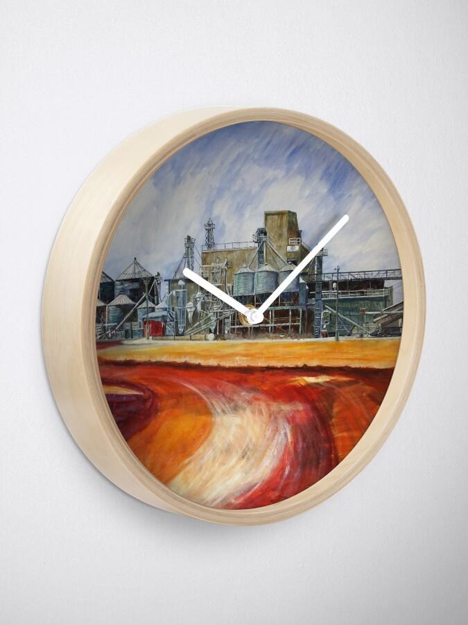 Alternative Ansicht von Hafer mahlen - Unigrain Wagin Uhr