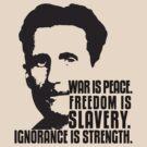 George Orwell 1984 by Jaime Cornejo