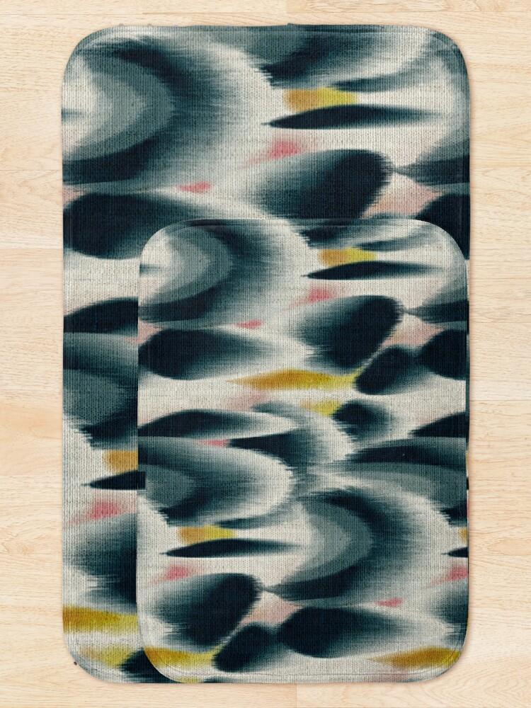 Alternate view of Shibori Wingspots Bath Mat
