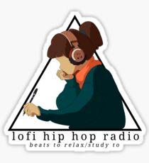 lofi hip hop radio - beats to relax/study to Sticker