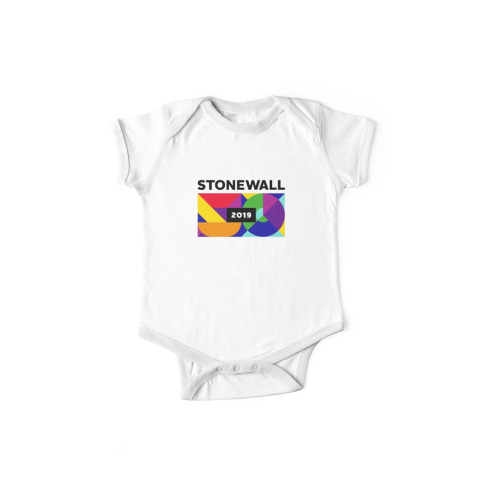 Quot Stonewall 50 Quot Baby One Piece By Mikefolsom Redbubble