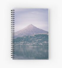 The Attraction Of Mountains by Cat Burton Spiral Notebook