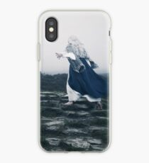The Blue Witch by Cat Burton iPhone Case