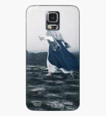 The Blue Witch by Cat Burton Case/Skin for Samsung Galaxy