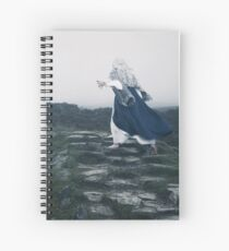 The Blue Witch by Cat Burton Spiral Notebook